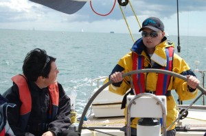 Sailing with Ellen Macarthur