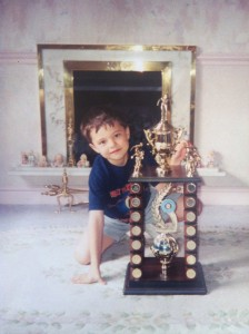 1 of many swimming trophies!!!